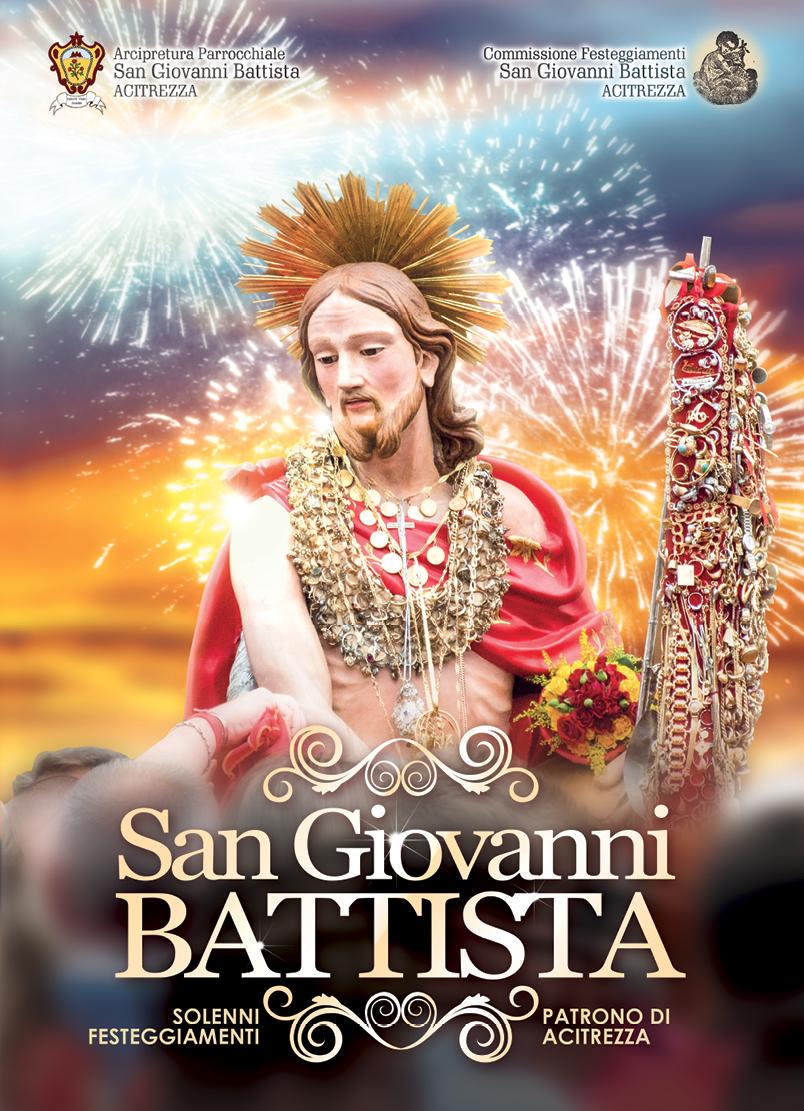 Solenni Festeggiamenti in onore di San Giovanni Battista Patrono di Acitrezza Programma 2016_01
