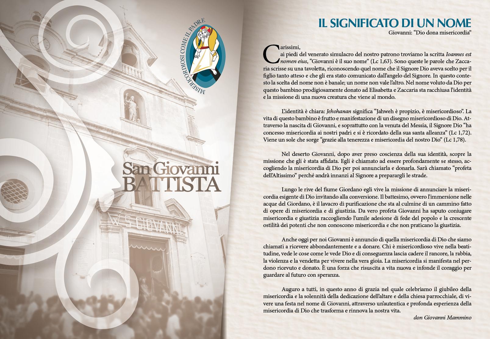 Solenni Festeggiamenti in onore di San Giovanni Battista Patrono di Acitrezza Programma 2016_02