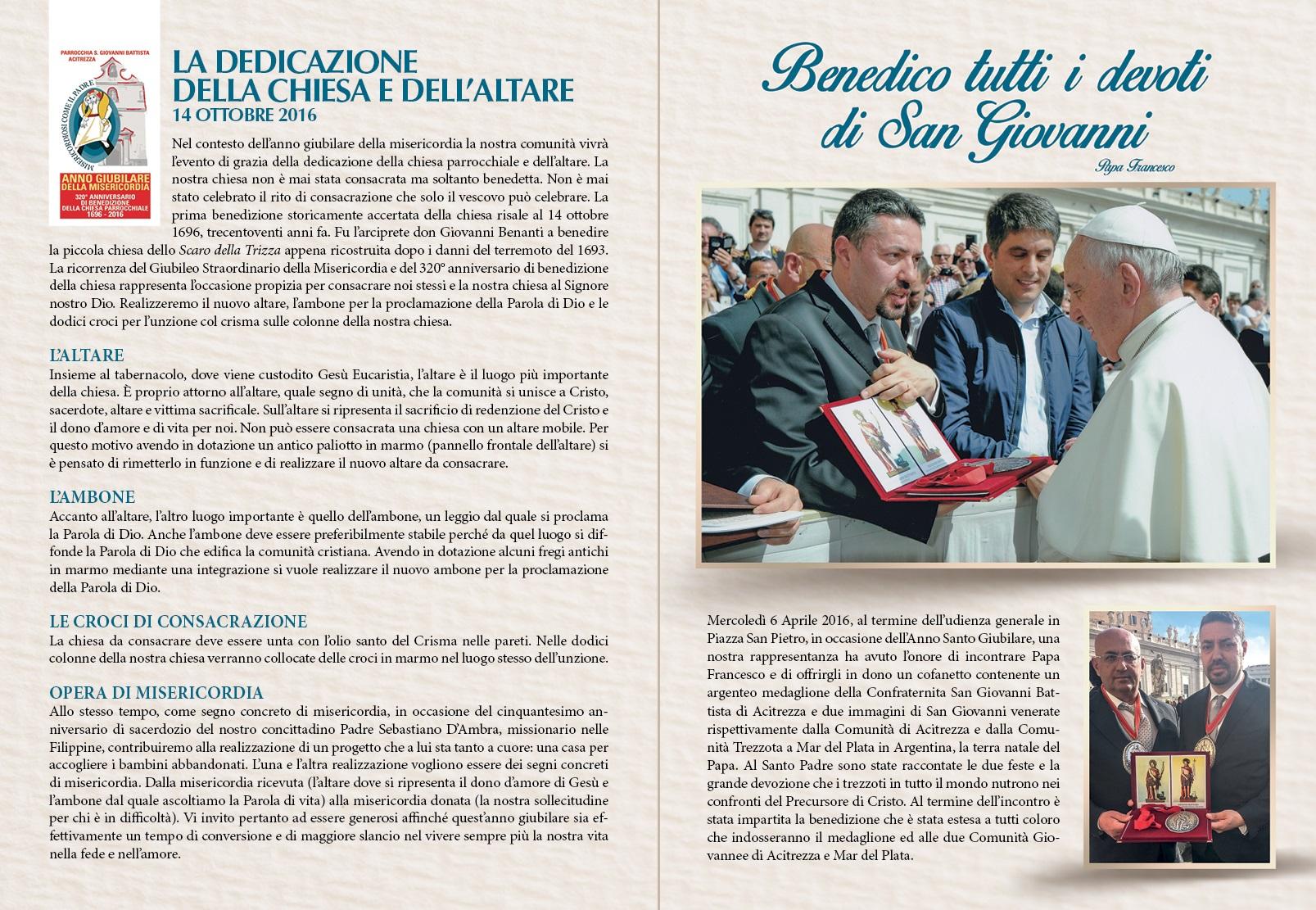 Solenni Festeggiamenti in onore di San Giovanni Battista Patrono di Acitrezza Programma 2016_08